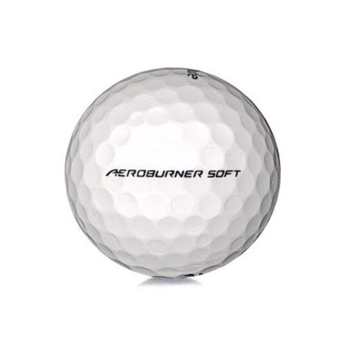Golfboll av modellen TaylorMade Aeroburner Soft i vit färg