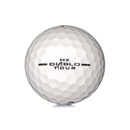Golfboll av modellen Callaway HX Diablo Tour i vit färg