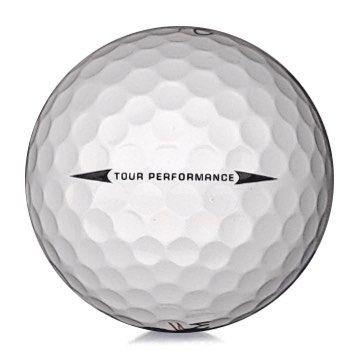 Golfboll av modellen Kirkland Tour Performance i vit färg