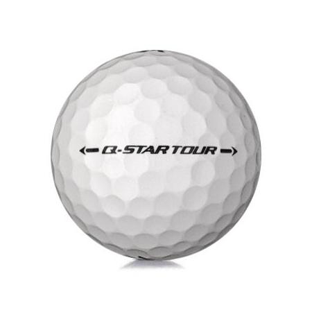 Golfboll av modellen Srixon Q-Star Tour i vit färg