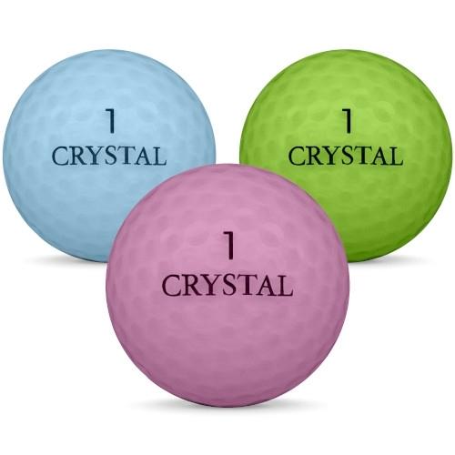 Golfbollar av modellen Others Crystal i färg mix färg