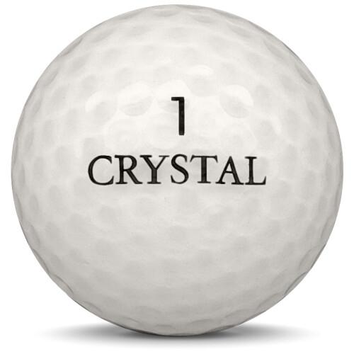 Golfboll av modellen Others Crystal i vit färg