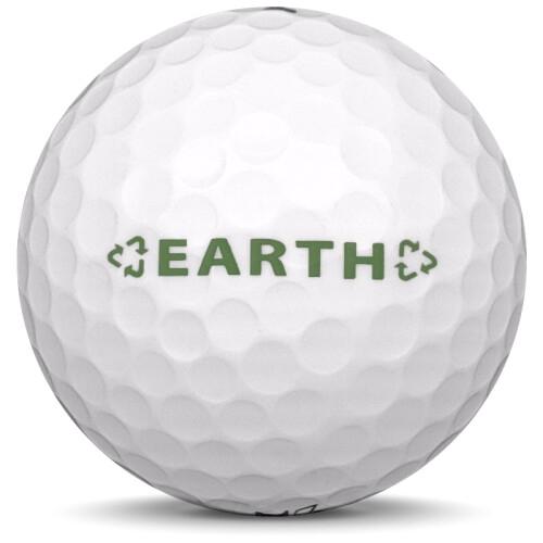 Golfboll av modellen Others Dixon Earth i vit färg