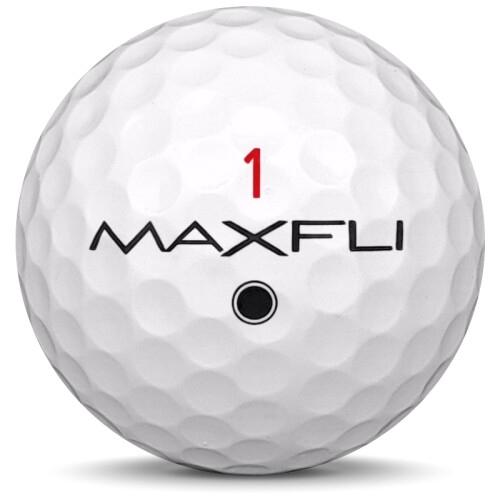 Golfboll av modellen Others Maxfli Mix i vit färg