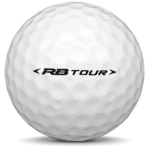 Golfboll av modellen Others Mizuno RB Tour i 2020 års version med vit färg från sidan