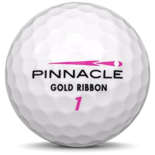 Golfboll av modellen Pinnacle Lady i vit färg