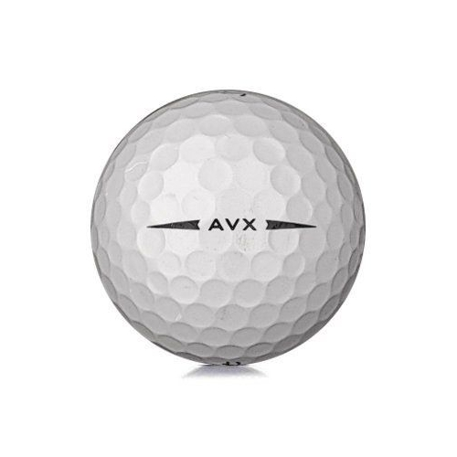 Golfboll av modellen Titleist AVX i vit färg