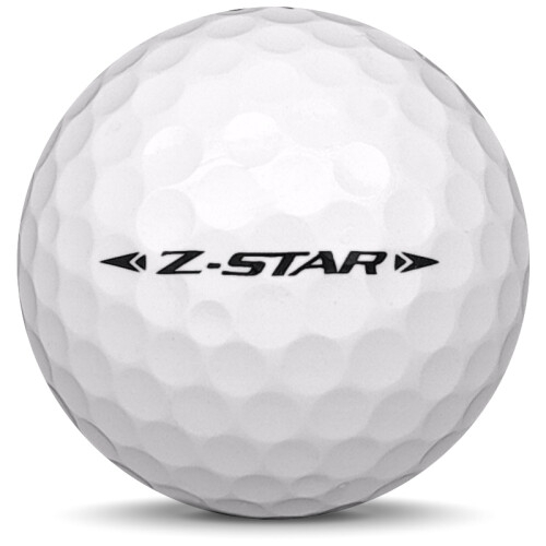 Golfboll av modellen Srixon Z-Star i 2020 års version med vit färg från sidan