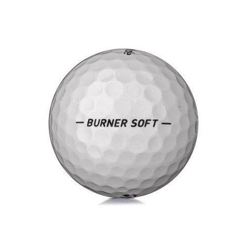 Golfboll av modellen TaylorMade Burner Soft i vit färg