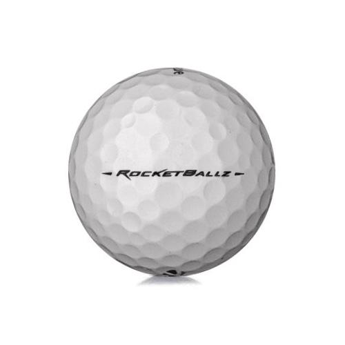 Golfboll av modellen TaylorMade Rocketballz i vit färg