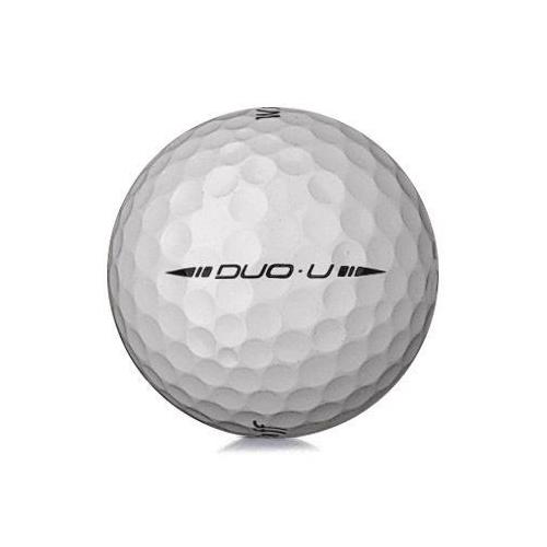 Golfboll av modellen Wilson Staff Duo Urethanei vit färg