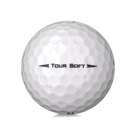Golfboll av modellen Titleist Tour Soft i vit färg