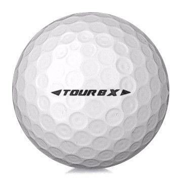 Golfboll av modellen Bridgestone Tour B X i vit färg
