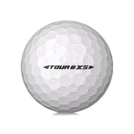 Golfboll av modellen Bridgestone Tour B XS i vit färg