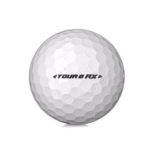 Golfboll av modellen Bridgestone Tour B RX i vit färg