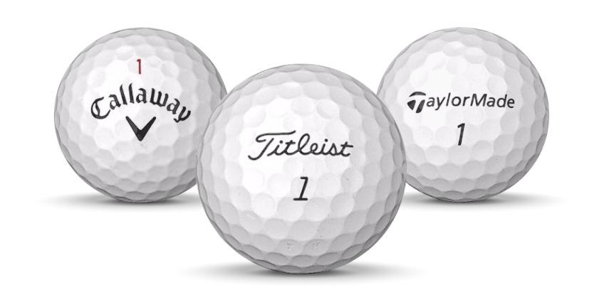 Begagnade golfbollar